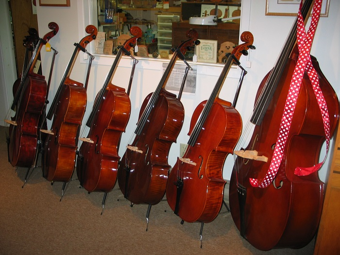 The Violin Workshop sells a variety of both new and used intruments